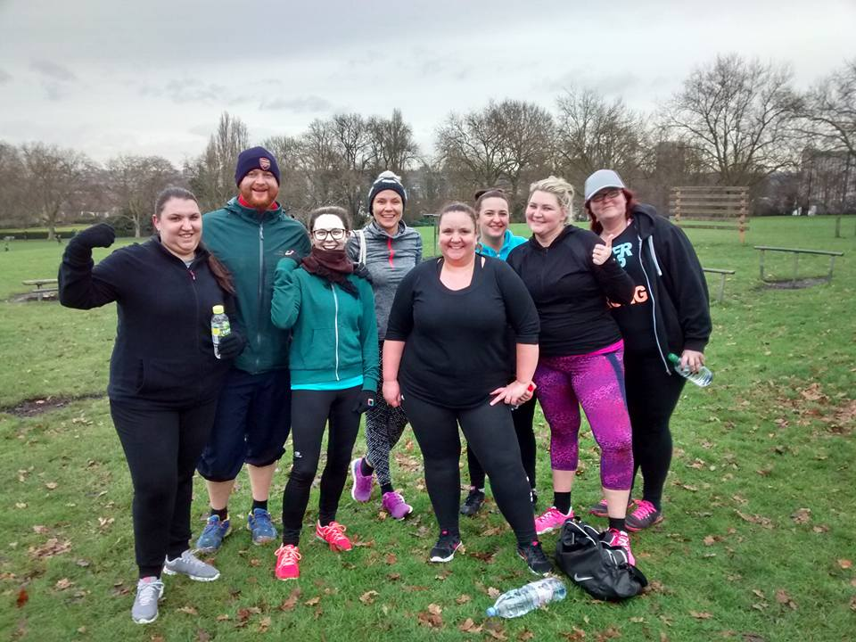 outdoor fitness hilly fields