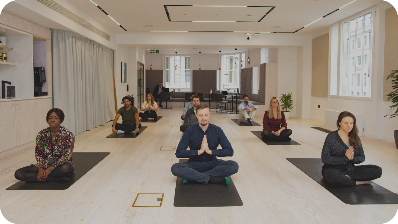 workplace meditation classes london